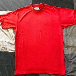 Acne studios mock neck shirt